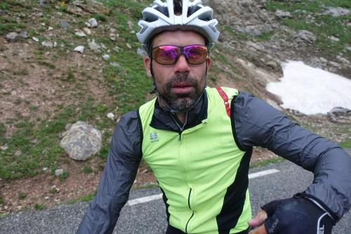 tim Naert at col du Galibier